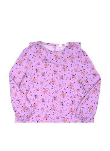 Pink&Orange Bluz Lila